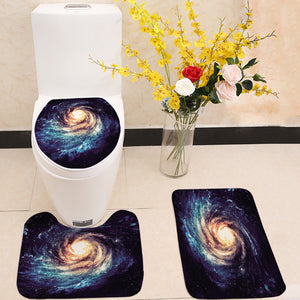 Milky Way Space Galaxy Toilet Seat Cover