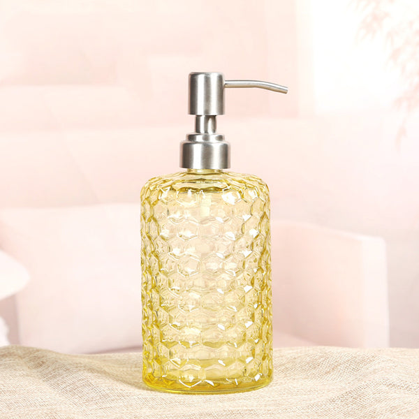 Modern Style French Romance Colorful Glass Soap Dispenser