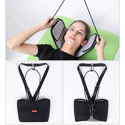 Neck Hammock Cervical Traction Neck Pain Relief Massager Device Head Hammock