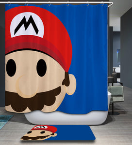 Nintendo Super Mario Shower Curtain