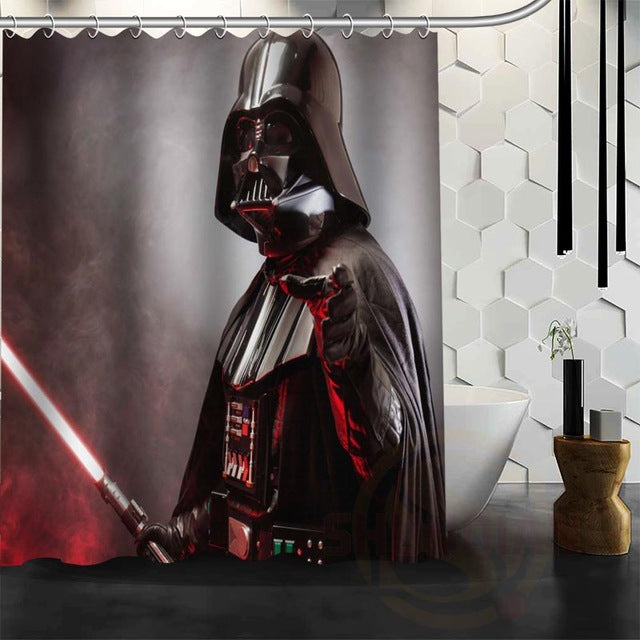 Star Wars Darth Vader Shower Curtain | GoJeek