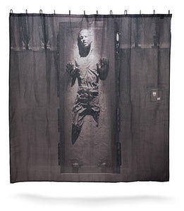Star Wars Han Solo in Carbonite Shower Curtain | GoJeek