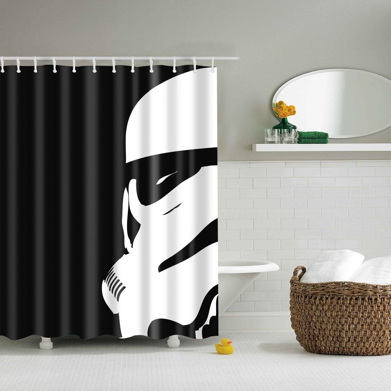 Star Wars Poster Storm Trooper Shower Curtain | GoJeek