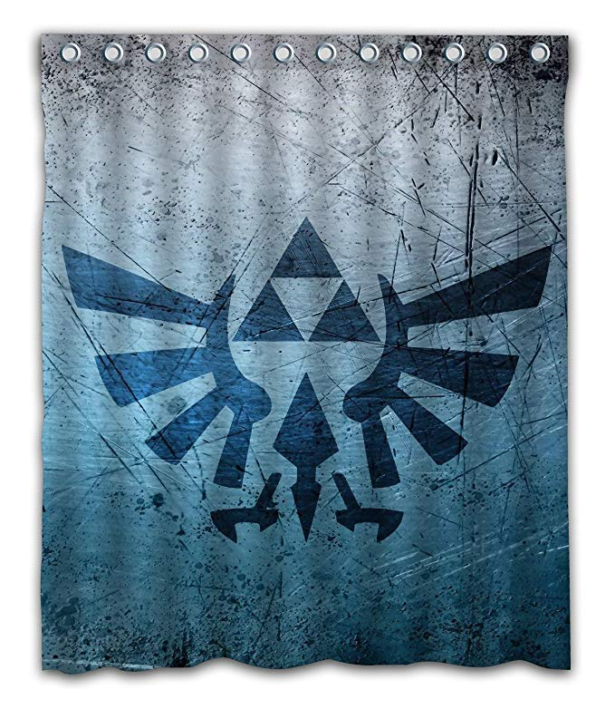 Symbol Legend of Zelda Shower Curtain