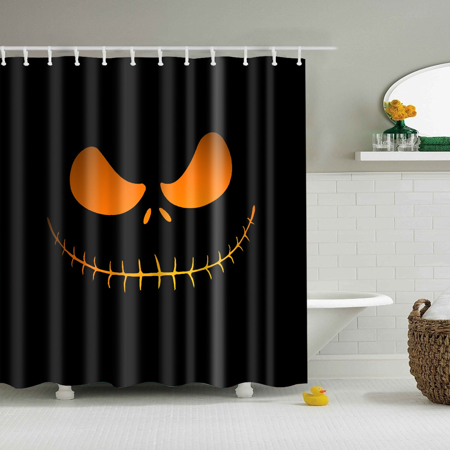 The Jack Skellington Shower Curtain | GoJeek