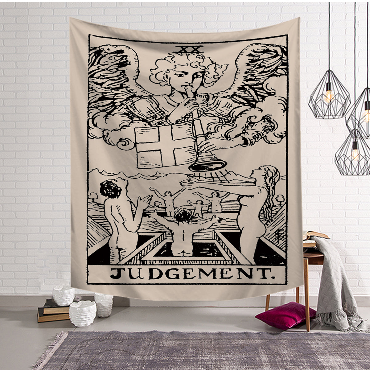 The Last Judgement Arcana Tarot Card Tapestry