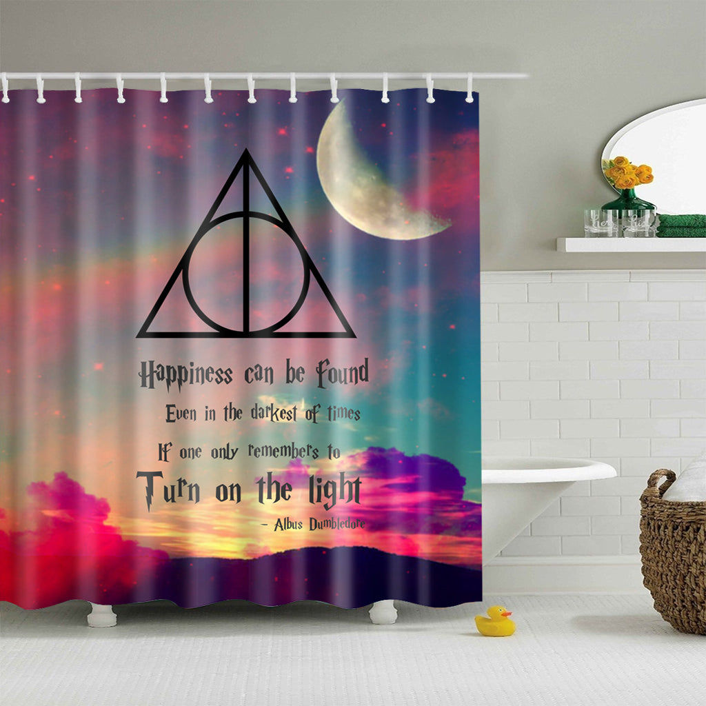 The Prisoner of Azkaban Triangle Harry Potter Shower Curtain | GoJeek
