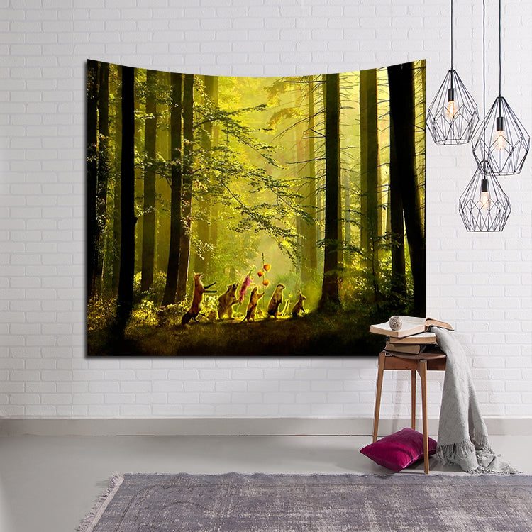 The Secret Parade in Forest Tapestry