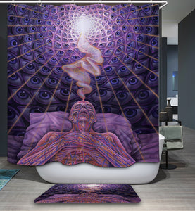 Third Eye Hip Hop Shower Curtain