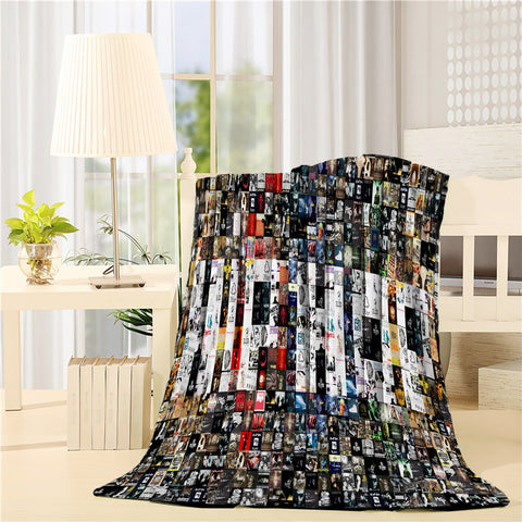 Unique Design Classic Movie Poster Throw Blankets