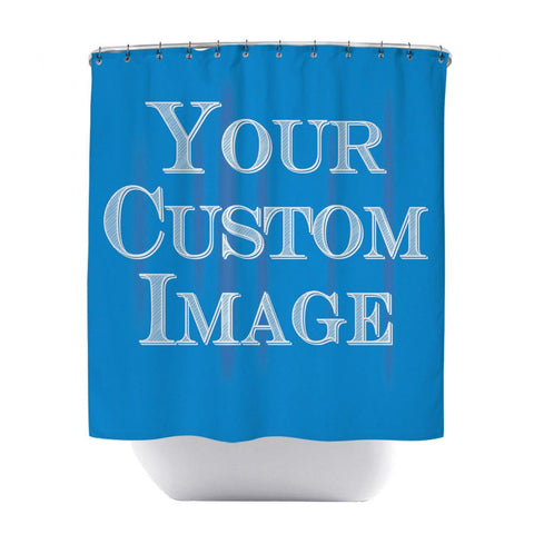 Unique Personalized Custom Shower Curtain | GoJeek