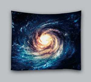 Universe Milky Way Planet Galaxy Tapestry