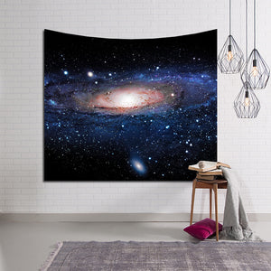Universe Space Panoramic Andromeda Galaxy Tapestry