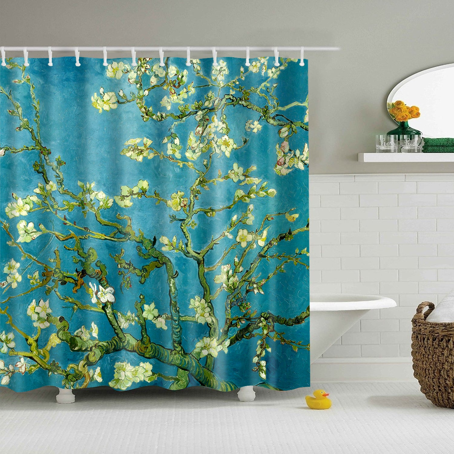 Van Gogh Almond Blossom Shower Curtain
