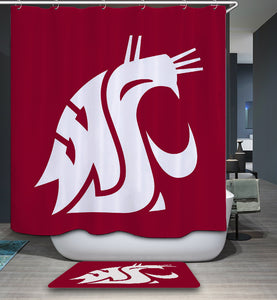 Washington State Cougar Shower Curtain