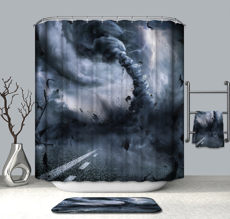 Weather Hurricane Shower Curtain
