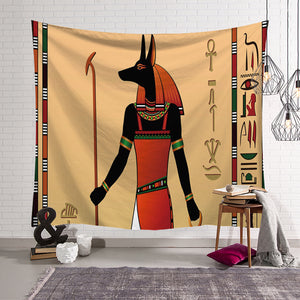 World Mythology The Sun God Egyptian Tapestry