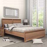 Mariza Queen Bed  Saxon Oak
