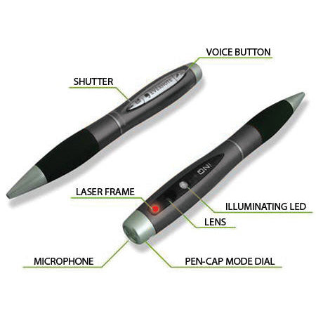 5-in-1 2D Laser Image Capture Pen
