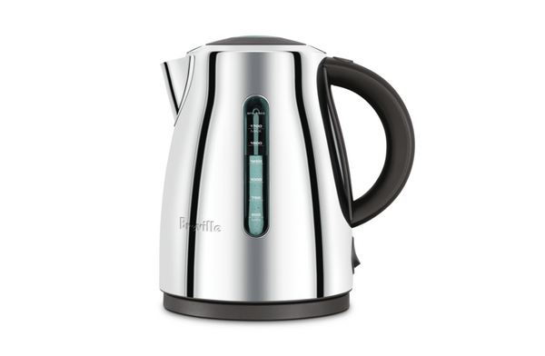Breville The Soft Top Clear Polished Kettle BKE495PSS