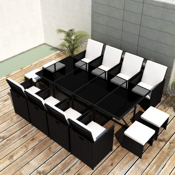 13-piece-outdoor-dining-set-with-cushions-poly-rattan-black-vxl-42524-bitpay-zip-coinbase