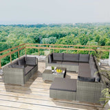 10-piece-garden-lounge-set-with-cushions-poly-rattan-grey-vxl-42736-bitpay-zip-coinbase