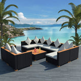 9-piece-garden-lounge-set-with-cushions-poly-rattan-black-vxl-42752-bitpay-zip-coinbase