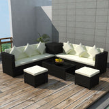 8-piece-garden-lounge-set-with-cushions-poly-rattan-black-vxl-42899-bitpay-zip-coinbase