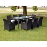 9-piece-outdoor-dining-set-with-cushions-poly-rattan-black-vxl-43118-bitpay-zip-coinbase