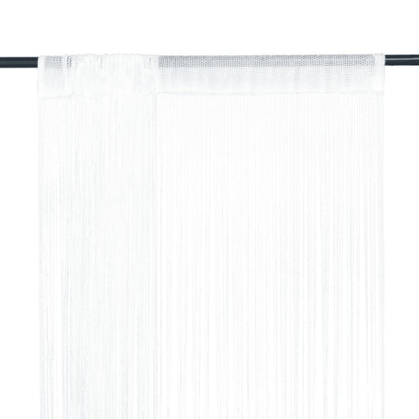 string-curtains-2-pcs-100x250-cm-white-vxl-132398-bitpay-gocoin-coinbase