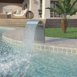 pool-fountain-stainless-steel-45x30x65-cm-silver-vxl-43692-bitpay-gocoin-coinbase