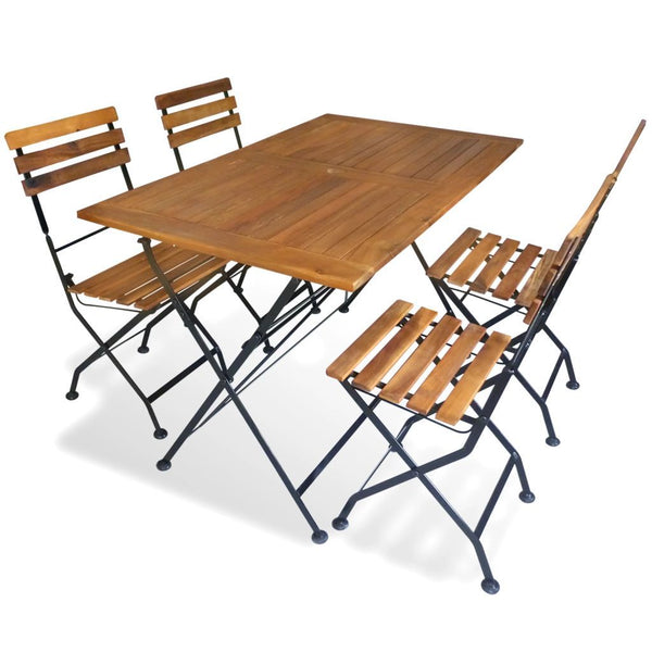 5-piece-folding-outdoor-dining-set-solid-acacia-wood-vxl-43729-bitpay-zip-coinbase