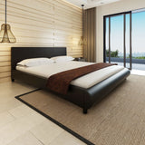 bed-frame-with-curved-lines-king-leather-black-vxl-244912-bitpay-zip-coinbase