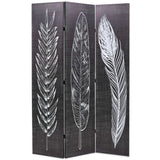 folding-room-divider-120x180-cm-feathers-black-and-white-vxl-245889-bitpay-zip-coinbase