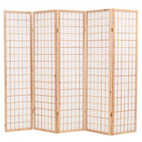 folding-5-panel-room-divider-japanese-style-200x170-cm-natural-vxl-245903-bitpay-zip-coinbase