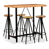 5-piece-bar-set-solid-sheesham-and-reclaimed-wood-vxl-275131-bitpay-zip-coinbase