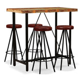 5-piece-bar-set-solid-reclaimed-wood-and-genuine-leather-vxl-275142-bitpay-zip-coinbase
