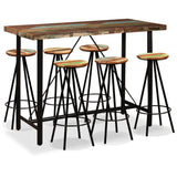 7-piece-bar-set-solid-reclaimed-wood-vxl-275146-bitpay-zip-coinbase