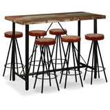 7-piece-bar-set-solid-reclaimed-wood-genuine-leather-canvas-vxl-275147-bitpay-zip-coinbase