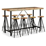 9-piece-bar-set-solid-reclaimed-wood-vxl-275149-bitpay-zip-coinbase