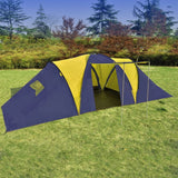camping-tent-fabric-9-persons-blue-and-yellow-vxl-90413-bitpay-zip-coinbase