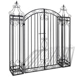 ornamental-garden-gate-wrought-iron-122x20-5x134-cm-vxl-40905-bitpay-zip-coinbase