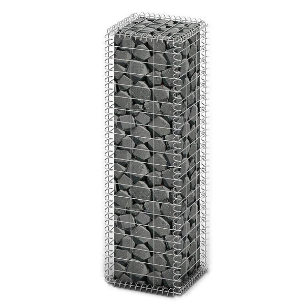 gabion-basket-with-lids-galvanised-wire-100x30x30-cm-vxl-141038-bitpay-zip-coinbase