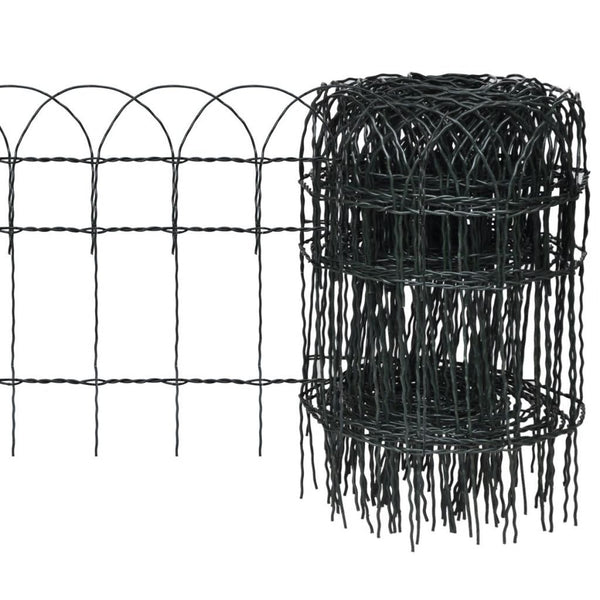 garden-border-fence-powder-coated-iron-25x0-4-m-vxl-141072-bitpay-zip-coinbase