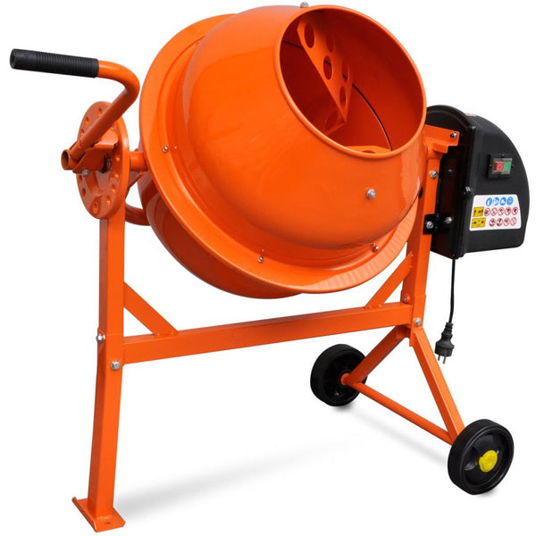 electric-concrete-mixer-63-l-220-w-steel-orange-vxl-141200-bitpay-gocoin-coinbase