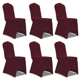 chair-cover-stretch-burgundy-6-pcs-vxl-241200-bitpay-gocoin-coinbase