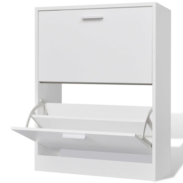 shoe-cabinet-with-2-compartments-wooden-white-vxl-241242-bitpay-gocoin-coinbase