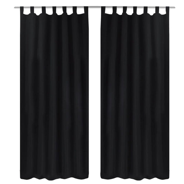 2-pcs-black-micro-satin-curtains-with-loops-140-x-225-cm-vxl-130354-bitpay-gocoin-coinbase