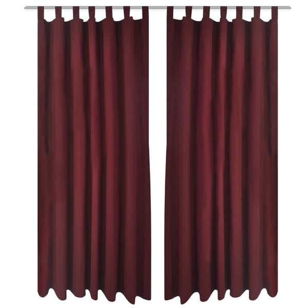 2-pcs-bordeaux-micro-satin-curtains-with-loops-140-x-225-cm-vxl-130363-bitpay-gocoin-coinbase