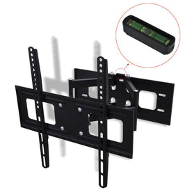 double-armed-tilt-swivel-wall-tv-bracket-3d-400x400mm-32-55-vxl-50317-bitpay-zip-coinbase